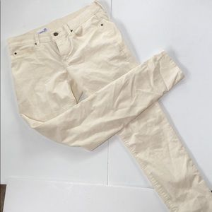 Gap cream corduroy jeans